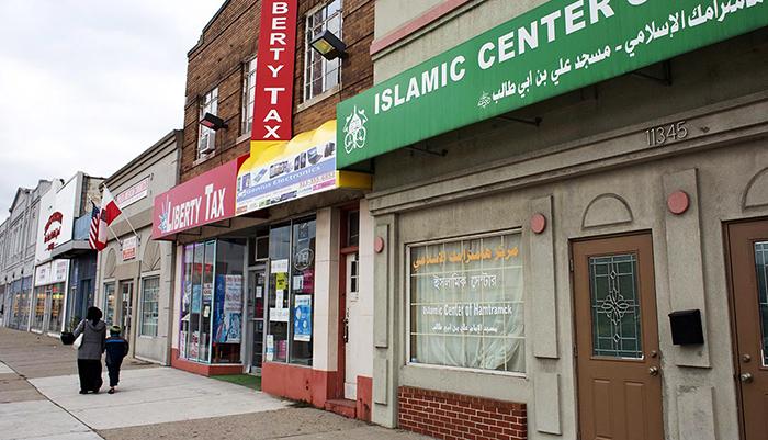 加州枪击案后 我们到美国的穆斯林小镇上逛了