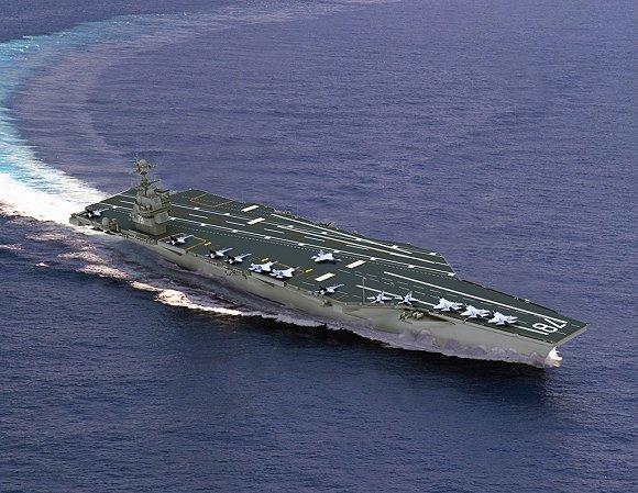 美国杰拉德·福特号航母