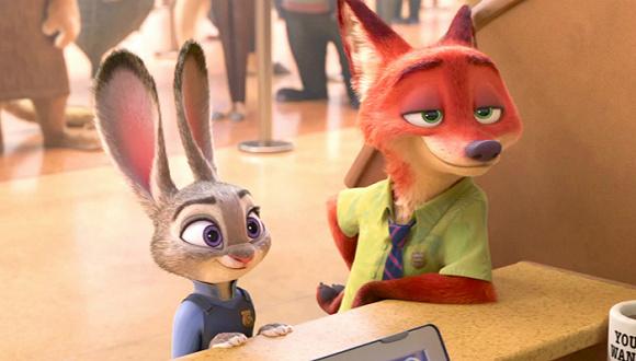 《疯狂动物城》的处理细节仍然令人赞叹,它没有让身为警官的兔子朱迪图片