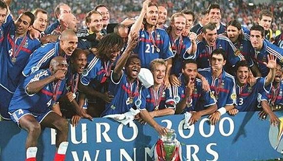 又是一年欧洲杯 但你还记得16年前封王的法国