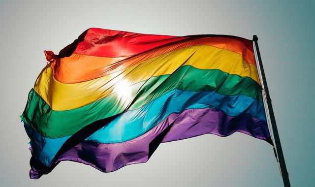 嗯,不了解同性恋的标志彩虹旗以及6月骄傲月的童鞋,你们就去搜索下图片