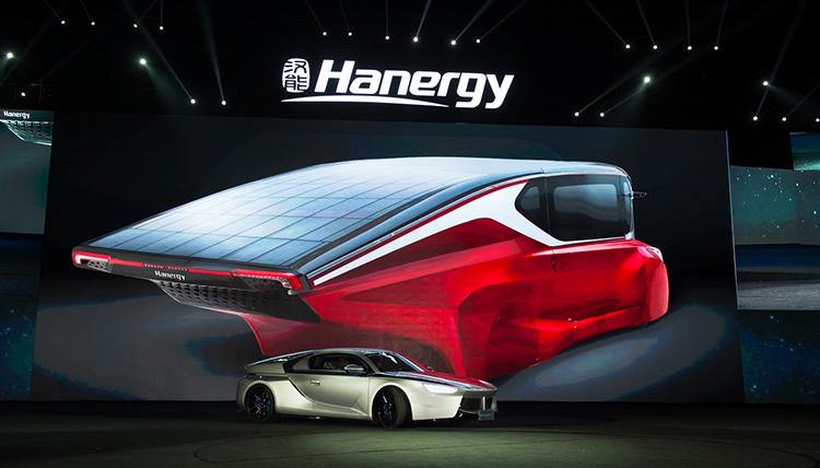 挫千亿一年后 李河君押宝全太阳能动力汽车高清图片