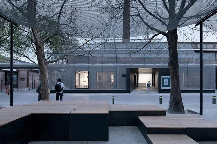 扇形广场 入口 景观设计
