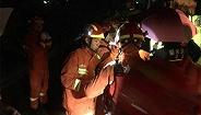 浙江丽水突发山体滑坡37户房屋被埋 伤亡不明已有2人获救