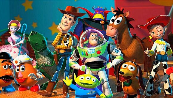 成立了皮克斯;1995年,把世界动画电影带入3d时代的《玩具总动员》上映