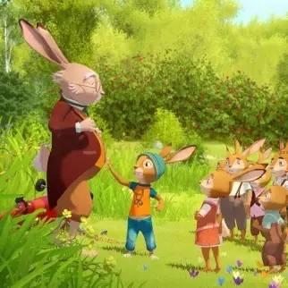 《小兔子学校:金蛋守护者》是一部德国的 3d 动画片,故事根据德国