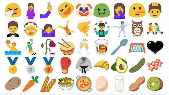 这些小动物emoji,和一贯写实的苹果相比,真是萌出血了.▼