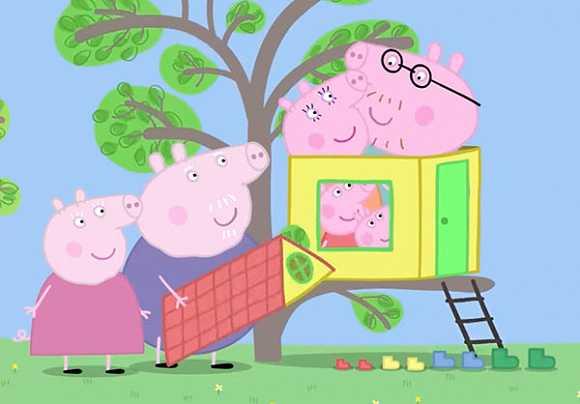 我看了几集小猪佩奇,无法自拔了