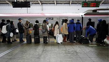 東京列車站臺里藏著這么些微妙的小心機