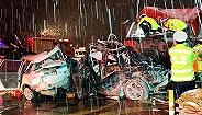 兰州高速收费站交通事故已致15死44伤 肇事车司机称刹车失灵