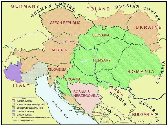 铁幕降下后,苏维埃政权控制了除奥地利之外的所有中欧国家.
