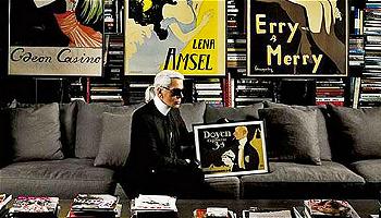 有了这份书单,你才能真正读懂Karl Lagerfeld
