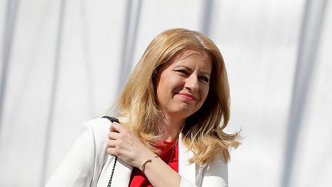 """斯洛伐克选出首位女总统,竞选口号""""对抗罪恶"""""""