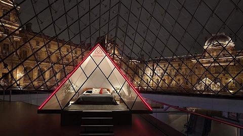 """在卢浮宫里睡一晚是什么感觉?这次为你找了位新""""房东?#20445;好?#23068;丽莎"""