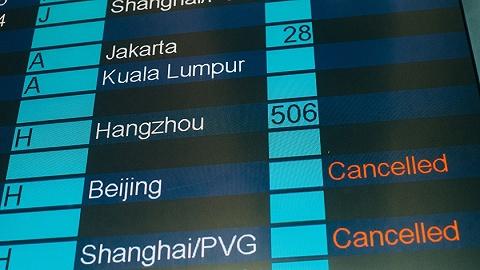 广州发布13年来最早暴雨红色预警信号,200航班受影响