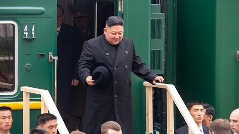 金正恩抵达符拉迪沃斯托克:早就想访俄,望与普京讨论朝鲜半岛调解