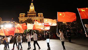 """""""我和我的祖国""""速闪·上海"""