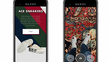 現在你能在GUCCI的App上AR試鞋了
