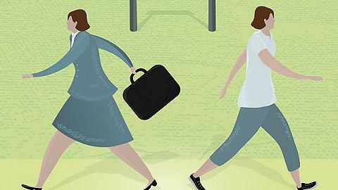 """面对""""离职长假""""风潮,一些企业开始实施回归职场计划"""