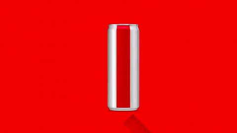 当健怡可乐没有了logo和标签,你还能认出它吗?