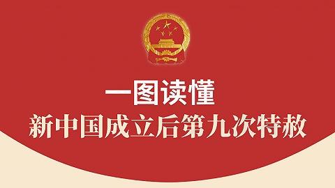 圖解 | 新中國成立后第九次特赦