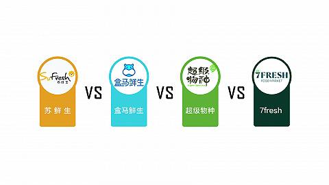 数据   生鲜超市们都在抢夺消费者,我们该选哪家?