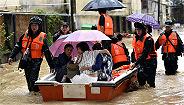 【图集】南方多地遭遇强降雨天气,部分地区?#29616;?#20869;涝