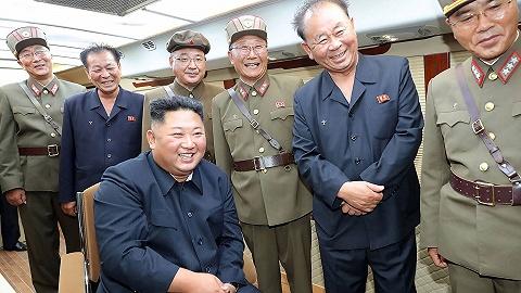 朝中社:金正恩再次指导新型武器试射