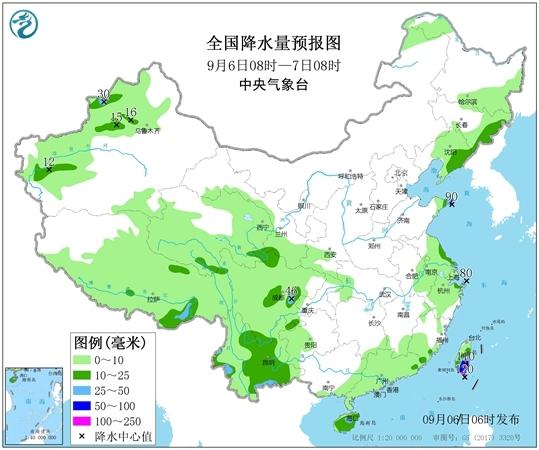 """台风""""玲玲""""将影响东北,局地有暴雨或大暴雨 界面新闻·中国"""