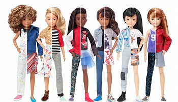 """这款新的芭比娃娃,试图""""撕下""""性别标签"""