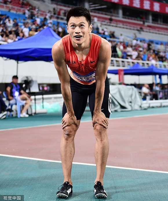 中国田径第一人:谢震业晋级世锦赛男子200米决赛