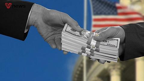 美国年度预算赤字逼近万亿美元创7年新高,占GDP4.6%