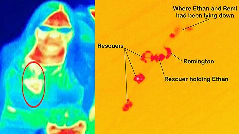 【一周影像资讯】救命的热成像相机:不仅发现乳腺癌,还找回了失踪的小朋友