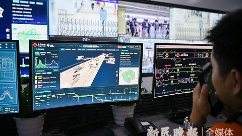 进博会5G+智慧地铁平台上线 预测排队、计算运能样样行