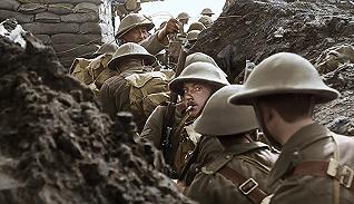 《他们已不再变老》:彩色影像重现一战战场