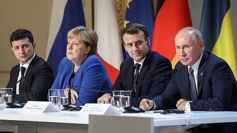 """普京终于见过泽连斯基,超时两倍的俄乌会谈""""打了平局"""""""
