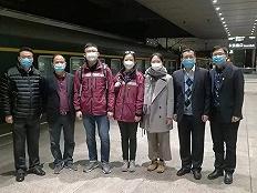 大年初一,上海疾控这三位专家踏上列车应援武汉