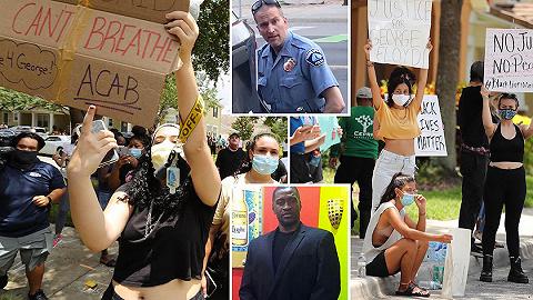 美暴力执法警察被控三级谋杀和过失杀人,汹涌民愤烧到白宫门口