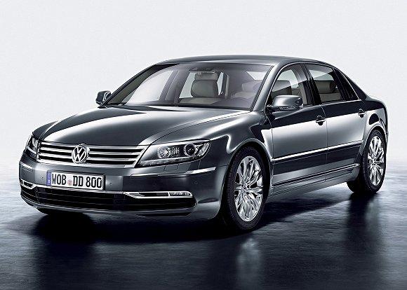 辉腾走下生产线,意味这辆代表大众汽车最高造车工艺的顶级豪华车正式