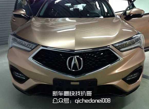 广汽讴歌重磅车型 SUV新成员CDX高清图片
