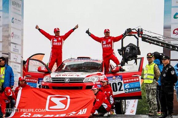 北京汽车也是首次参加环塔拉力赛,此次参赛车辆是bj40,这款高清图片