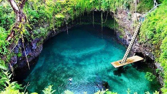 23个全世界最纯净的天然游泳池,你去过几个?