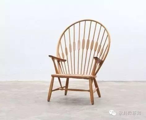 孔雀椅 丹麦国宝级设计大师阿恩·雅各布森 设计了蛋椅,天鹅椅,壶椅.