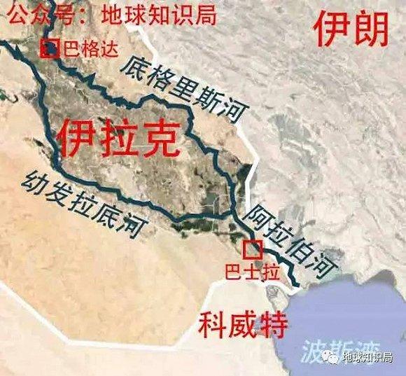 在古巴比伦王国时期,伊拉克的海岸线在乌尔城一带,该地以南就是波斯图片