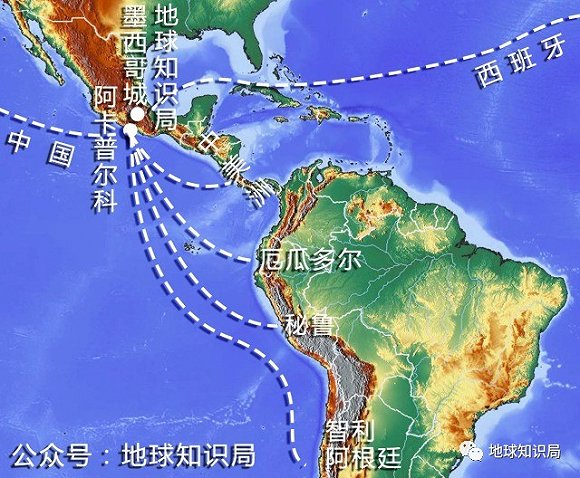 中国各地特产手绘地图
