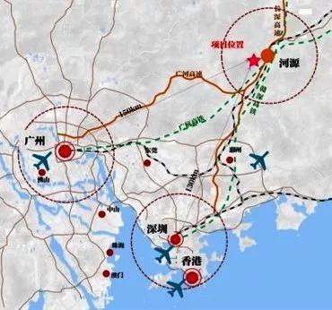 河源地图市区地图
