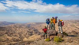 想从城市逃离的旅行者,约旦准备了一条40天的文化国家步道