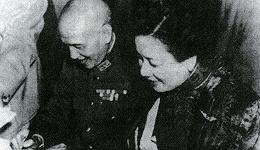 蒋介石与宋美龄婚礼的那一天