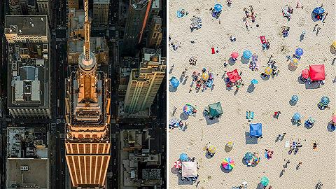 看城市的最佳角度可能是天上