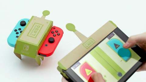 脑洞就服任天堂:Switch新玩法Nintendo LABO亮相